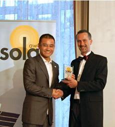 13 upsolar bravio Βραβείο καινοτομίας και τεχνολογικής υπεροχής στην Upsolar