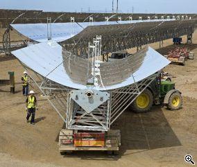 ηλιοθερμική Lebrija Οι Φωτοβολταϊκοί και οι ηλιοθερμικοί σταθμοί παραγωγής ενέργειας κάλυψαν τον Αύγουστο του 2012 στην Ισπανία,  το 5,1% της εθνικής ζήτησης ηλεκτρικής ενέργειας