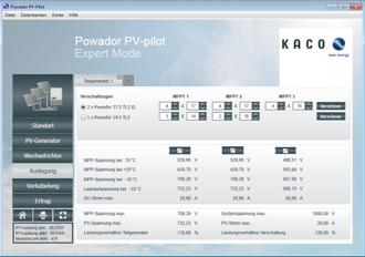 52 kaco pv pilot 330x230 Πρόγραμμα σχεδιασμού φωτοβολταϊκής εγκατάστασης από την Kaco