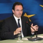 Ο Υπουργός ΠΕΚΑ, Γιώργος Παπακωνσταντίνου, στη συνεδρίαση του Συμβουλίου Υπουργών Περιβάλλοντος της Ευρωπαϊκής Ένωσης, στις Βρυξέλλες