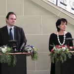 Ο Υπουργός ΠΕΚΑ, Γιώργος Παπακωνσταντίνου, με την Υπουργό Περιβάλλοντος και Ενέργειας της Ελβετίας
