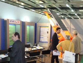 51 arvis solar news 330x248 Το Γερμανικό tracker της Arvis Solar στην Ecotec 2012