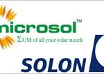 Η Microsol αγοράζει την SOLON