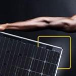 """φωτοβολταϊκό πλαίσιο """"Premium L dual power"""" με διπλής όψης ηλιακά κύτταρα"""