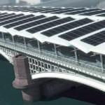 Η μεγαλύτερη φωτοβολταϊκή γέφυρα του κόσμου, στον σταθμό Blackfriars του Λονδίνου
