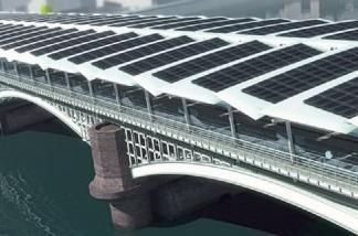 fotoboltaik bridge london Η μεγαλύτερη φωτοβολταϊκή γέφυρα του κόσμου στο Λονδίνο