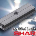 Σύστημα στήριξης της Alumil για Thin Film Panel της Sharp