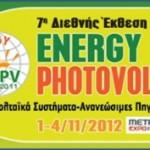 ENERGY PHOTOVOLTAIC 2012