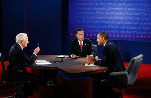 Obama Romney Στο τρίτο προεδρικό ντιμπέιτ Ομπάμα και Ρόμνεϊ διαφώνησαν για τις δημόσιες επενδύσεις στην ενεργειακή τεχνολογία, την έρευνα και την ανάπτυξη