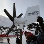 Η Ampair Energy κατασκευάζει ανεμογεννήτριες με ισχύ από 100W μέχρι 6000W