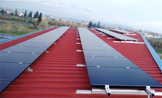 Frontier Φωτοβολταϊκά πάνελ Solar Frontier από την Olympic Engineering