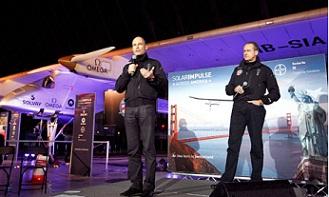 solar impulse Ο γύρος των ΗΠΑ αποκλειστικά με ηλιακή ενέργεια, από το Solar Impulse