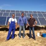 Osolarmio: Οριστική λύση στον καθαρισμό φωτοβολταϊκού πάρκου