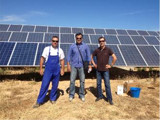 Osolarmio Osolarmio: Οριστική λύση στον καθαρισμό φωτοβολταϊκού πάρκου