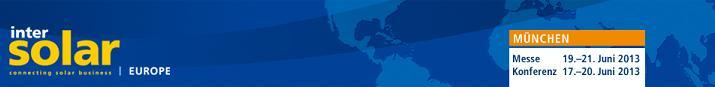 intersolar 2013 Intersolar Europe 2013