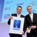 Το Sunny Boy Smart Energy της SMA κέρδισε το βραβείο Intersolar AWARD 2013 στη Intersolar