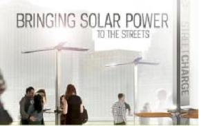 solar new york Ηλιακοί σταθμοί για την φόρτιση κινητών στην Νέα Υόρκη