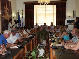 kavala Συνάντηση Μανιάτη με θεσμικούς και παραγωγικούς φορείς
