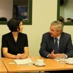 Συνάντηση του Υπουργού ΠΕΚΑ, Γιάννη Μανιάτη, με την Υφυπουργό Περιβάλλοντος της Ομοσπονδιακής Δημοκρατίας της Γερμανίας, Katherina Reiche