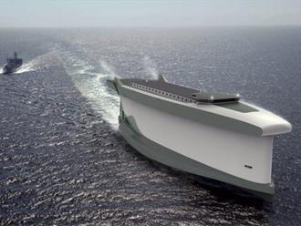 skafos Σχέδια για το πιο πράσινο φορτηγό πλοίο του κόσμου