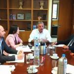 Ευρεία σύσκεψη υπό τον Υπουργό ΠΕΚΑ, Γιάννη Μανιάτη, για το έργο της ολοκληρωμένης διαχείρισης απορριμμάτων Πελοποννήσου