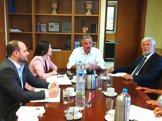 ypeka2 Σύσκεψη για το έργο της ολοκληρωμένης διαχείρισης απορριμμάτων Πελοποννήσου