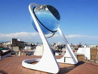 iliaki sfaira Η μεγάλη κρυστάλλινη σφαίρα της ηλιακής ενέργειας