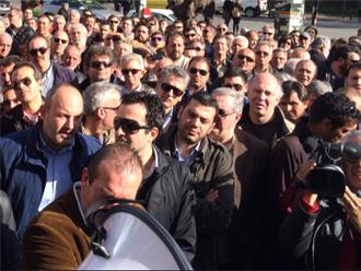 spef2 Ολοκληρώθηκε η συγκέντρωση διαμαρτυρίας των παραγωγών ενέργειας στο ΥΠΕΚΑ