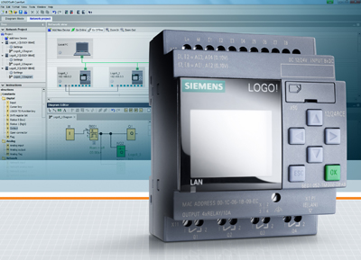 siemens1 H Siemens παρουσιάζει τη νέα γενιά μονάδων λογικής Logo! 8