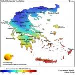 Νέοι κλιματολογικοί χάρτες ηλιακής ενέργειας για την Ελλάδα